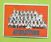 1967 Topps - Kansas City Athletics Team Card (#262)