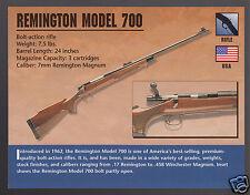 REMINGTON MODEL 700 RIFLE 7mm Atlas Gun Classic Firearms PHOTO CARD