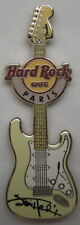 Hard Rock Cafe Paris Signature Series 29 Jimi Hendrix Pin 2012