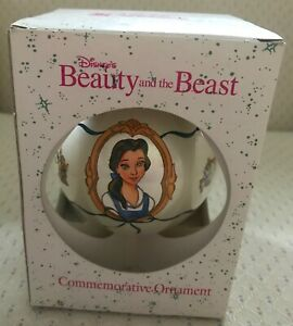 Schmid Disney's 1991 Beauty and the Beast Commemorative Ornament  ***NEW***.