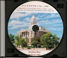 Fayette County Ohio History + Bonus