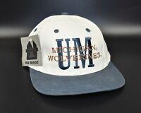 Michigan Wolverines NCAA Nu Image Vintage 90's Snapback Cap Hat - NWT