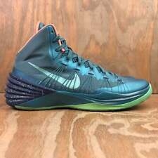 Nike HyperDunk 2013 Mineral Teal / Green Glow / Brave Blue Basketball Shoes Sz 9
