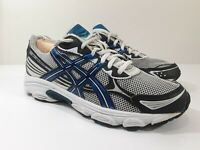 Asics Gel-Galaxy 5, T231N,  Black/Gray/white, Mens Running Shoes, Size 7.5