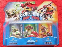 Funny Bone Sure Shot Shroomboom Chopper Skylanders Trap Team 3 er Pack, Neu OVP