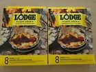 Set of 2 Boxes Lodge Cast Iron Parchment Paper Dutch Oven Liners Set Of 8, 20IN