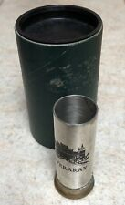 Travel Dram Cup Scottish Inveraray Scotland  Liquor Whisky Tumbler Original Box
