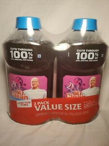 2 Pack MR. Clean Multi-Surface Cleaner MOONLIGHT BREEZE with Gain Scent 45 Oz