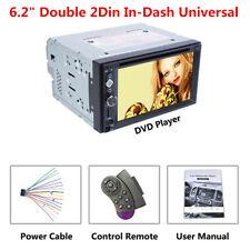 2 Din coche reproductor de DVD Radio Unidad Principal aux BT espejo Link & control del volante