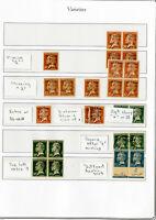 Lebanon Stamps Rare Classics Mint/Used major errors 26x total