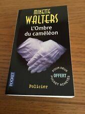 Livre Poche Policier L'ombre Du Caméléon Minette Walters