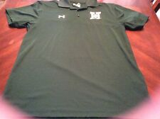 Mens Mary H 00004000 ardin Baylor Under Armour Loose Fit Green Polo Size S Men