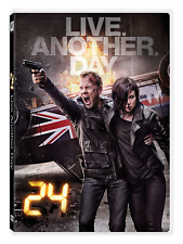 24: Live Another Day Box Set Kiefer Sutherland DVD discs : 4 Mystery & Thriller