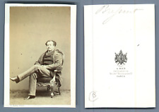 Brysont acteur vintage carte de visite, CDV,  CDV, tirage albuminé, 6 x 10.5 c