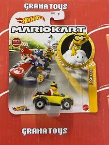 Lakitu Sports Coupe 2021 Hot Wheels Super Mario Kart Case N