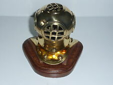 Diving Helmet Mark V Brass 4 inch reproduction