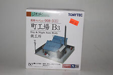 TOMYTEC N SCALE DAY & NIGHT AUTO BODY JUNKYARD KIT, NEW IN BOX