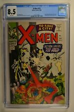 X-MEN #23 CGC 8.5 White pages Marvel 8/66