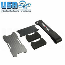 RealAcc Carbon Fiber Battery Protection Kit with Foam Pads Rubberized Strap