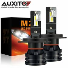 2X AUXITO H4 9003 HB2 LED Headlight Bulb Hi Lo Beam High Power Super Bright M2