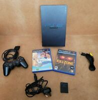 Sony PlayStation 2 PS2 Fat Console Bundle Complete with Controller & 2 Games