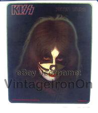 70's KISS PETER CRISS Aucoin Solo Tour Concert ROCK Orig VTG t-shirt iron-on NOS
