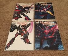 Transformers Windblade #1 2 3 4 Complete Variant Covers Ri Sub Idw