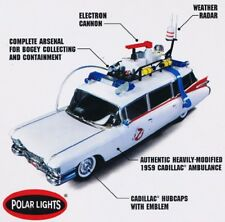 Auto ECTO-1 da GHOSTBUSTERS Modello 1/25 EASY SNAP Kit MODEL CAR Polar Lights