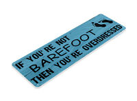 TIN SIGN Barefoot Metal Décor Art Farm Shop Beach House Cottage Kitchen A844