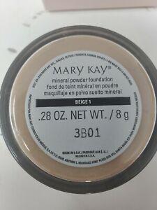 Mary Kay Mineral Powder Foundation Beige 1 NEW .28 OZ
