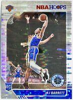 2019-20 Panini RJ Barrett Silver Prizm Pulsar Rookie NBA Hoops Premium Knicks🔥