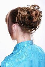 Postiche Cheveux Synthétiques Chouchou Scrunchy Bandeau Braun Blond Mèches