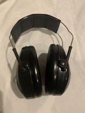 3M Peltor Junior Headset. Passive Hearing Protector, Black Earmuff #97070