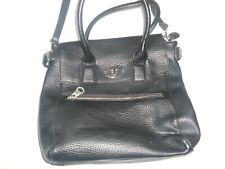 Tom & Eva  Ladies Handbag Bag Black VGC tote