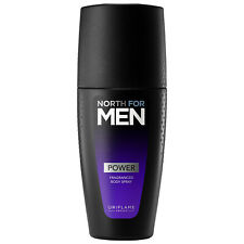 Oriflame North for MEN POWER Perfumed Body Spray 100ml 34487