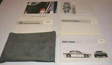 2004 VOLVO S60 S60R OWNERS MANUAL GUIDE BOOK SET WITH CASE OEM