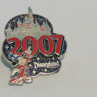 Disney DLR 2007 Sleeping Beauty Castle Collection Sorcerer Mickey Pin