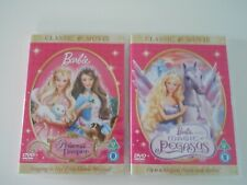 BARBIE DVD's x2 Magic of Pegasus & Princess & the Pauper