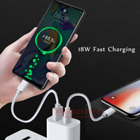 QC 3.0 PD 3.0 USB-C Type-C Adapter Wall Charger Fast Charging For Android Phone