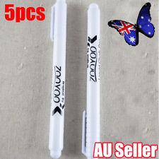 5 x White Liquid Chalk Pen Marker For Windows Glass Chalkboard Blackboard Art BO