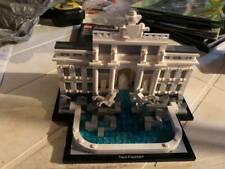 LEGO 21020 ARCHITECTURE TREVI FOUNTAIN COMPLETE W/ INSTRUCTIONS - NO BOX