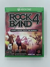 Rock Band 4 Microsoft Xbox One Video Game Only