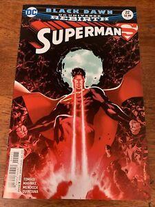 Black Dawn DC Universe Rebirth Superman #22 July 2017