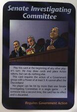 ILLUMINATI NEW WORLD ORDER CARD GAME TCG -SENATE INVESTIGATING COMMITTEE NM-MT