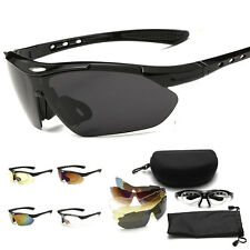 UV400 lens Set Polarized Cycling Glasses Eyewear Bike Goggles Fishing Sunglasses