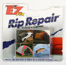 NEW Heads Up EZ Fix Rip Repair Fabric & Canvas Kit - Mends Rips And Tears