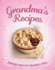 """""""VERY GOOD"""" Large Cookery Book - Grandma's Recipes - Taste (Taste Cookbooks), Ig"""