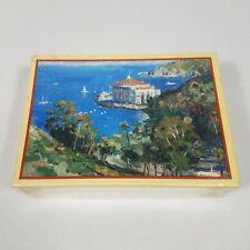 New Thomas Kinkade Catalina Island Collection Box 20 Note Cards California Pier