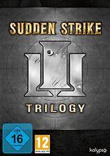 Sudden Strike Trilogy - 3 Spiele in einer Box - Strategie - PC-DVD - NEU