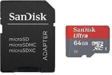 64GB Sandisk ULTRA MicroSDHC SDXC Memory Card for SAMSUNG GALAXY V GRAND PRIME